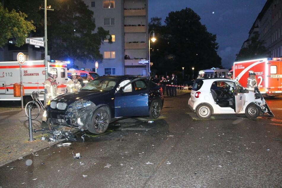 In Berlin-Kreuzberg hat es am Mittwochabend einen schweren Unfall gegeben.