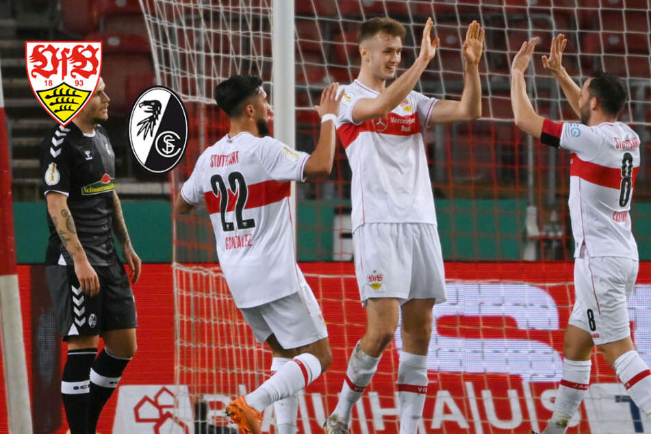 "VfB schmeißt Freiburg dank ""Weltklasse""-Kalajdzic aus dem Pokal!"