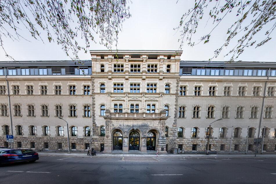Hier im Amtsgericht Leipzig wurde N. nach Bekanntwerden der Vorwürfe ins Archiv versetzt, trat seinen Dienst aber bis heute nicht an.