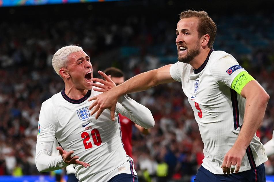 Dürfen Phil Foden (21, l.) und Harry Kane (27) am Ende mit England den Europameistertitel feiern?