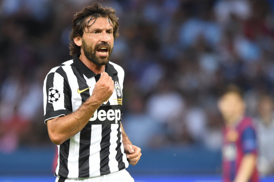Andrea Pirlo, hier im Champions-League-Finale 2015, übernimmt bei Juventus Turin.