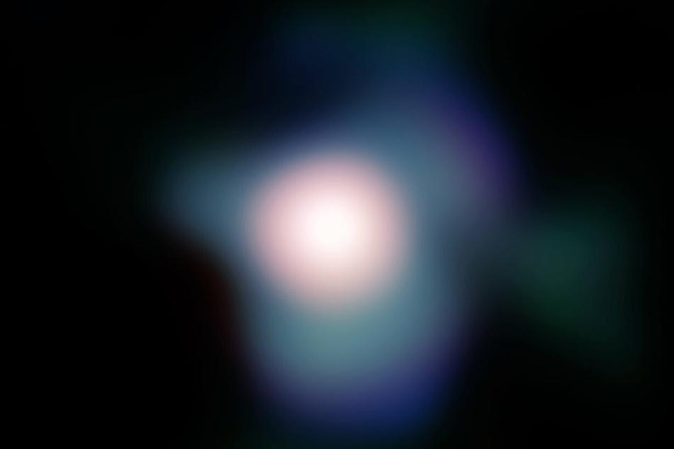 Ein undatiertes Handout, das von der Nasa am 05. August 2009 zur Verfügung gestellt wurde, zeigt den Roten Riesen Beteigeuze im Sternbild Orion.