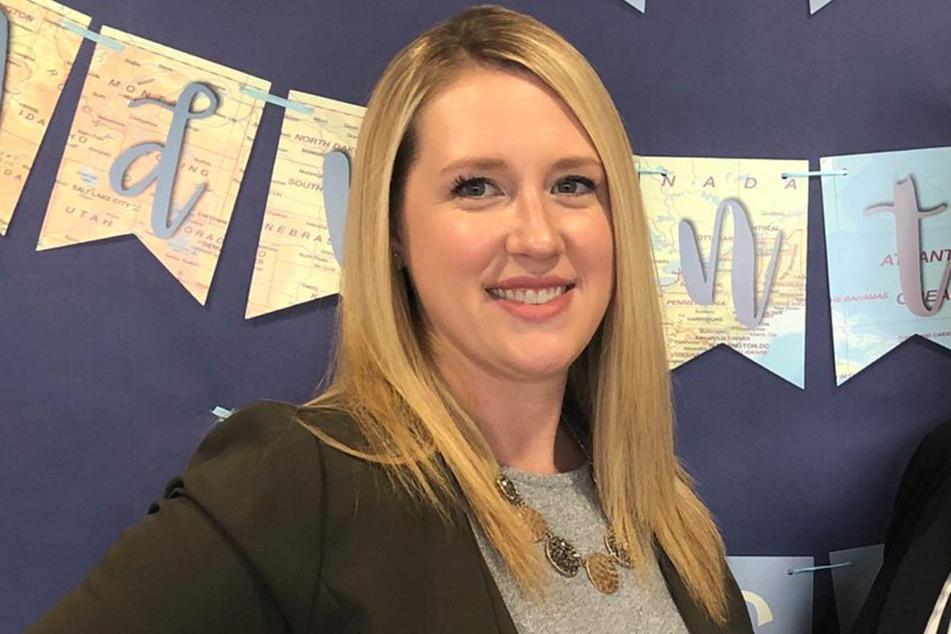Die junge Grundschulleiterin Erica Allen wurde in ihrem Auto vom eigenen Ehemann ermordet.