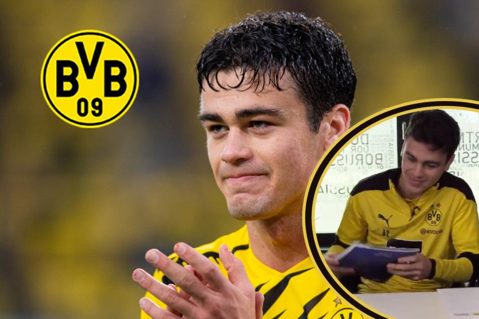"""BVB bindet Reyna langfristig: Dortmund postet mit Unterschrift auch """"Gios"""" Vokabel-Paukerei!"""