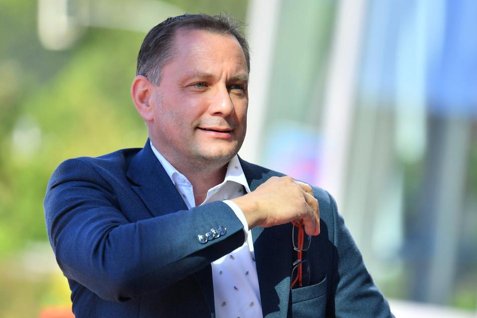 Hat Klagen gegen Sachsens Verfassungsschutz und dessen ehemaligen Chef eingereicht: der Görlitzer Tino Chrupalla (45, AfD).