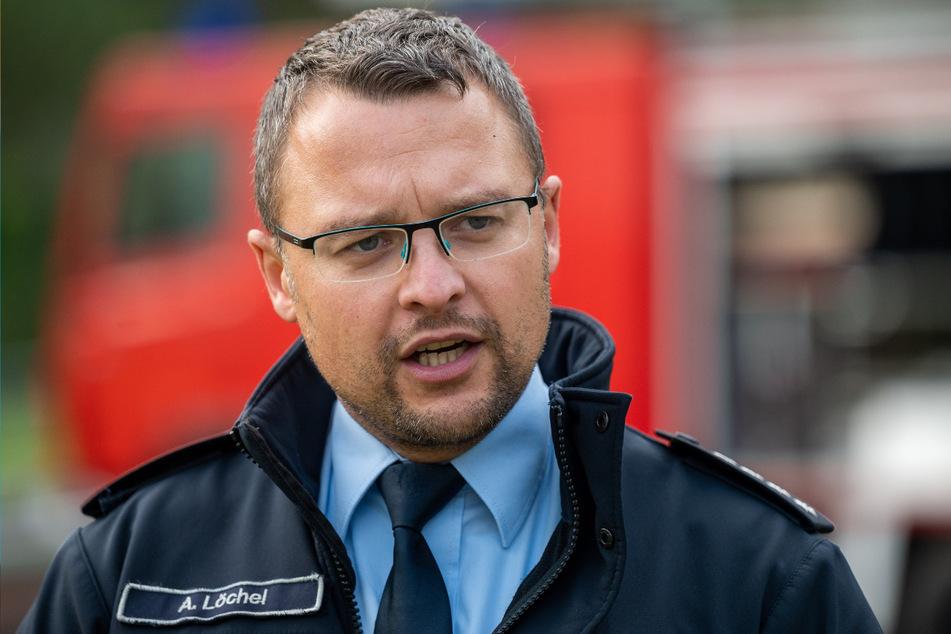 Kreisbrandmeister Alexander Löchel (35) sieht in den Übungstagen einen vollen Erfolg.
