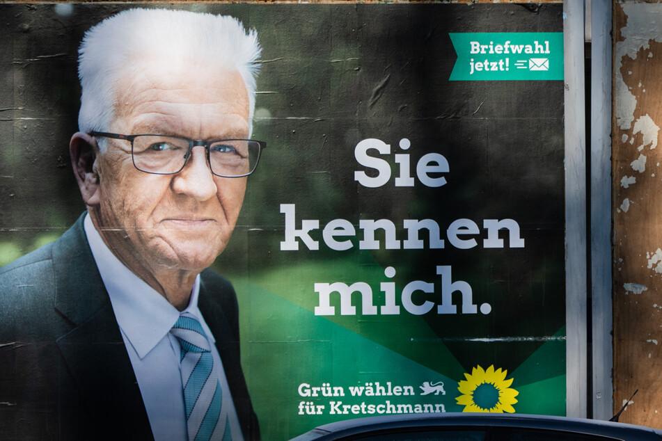 Winfried Kretschmann (72, Grüne) argumentiert konservativ im Wahlkampf.