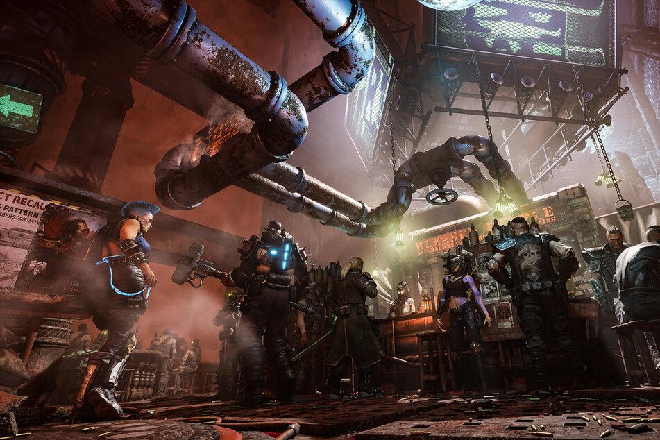 Die dystopische Welt gehört wohl zu den düstersten Settings im Warhammer-40k-Franchise.
