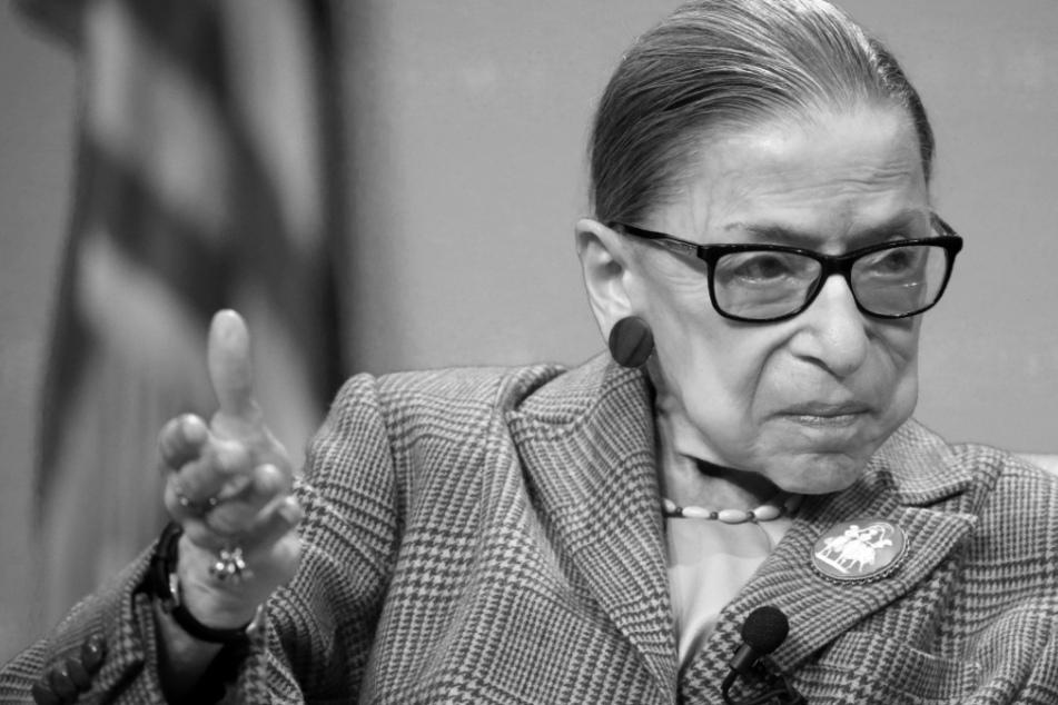 Pionierin für Frauen- und Bürgerrechte: Richter-Ikone Ruth Bader Ginsburg ist tot