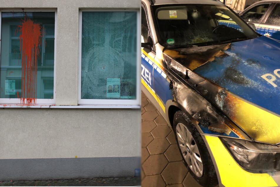 Gleich zwei Essener Polizeiwachen angegriffen