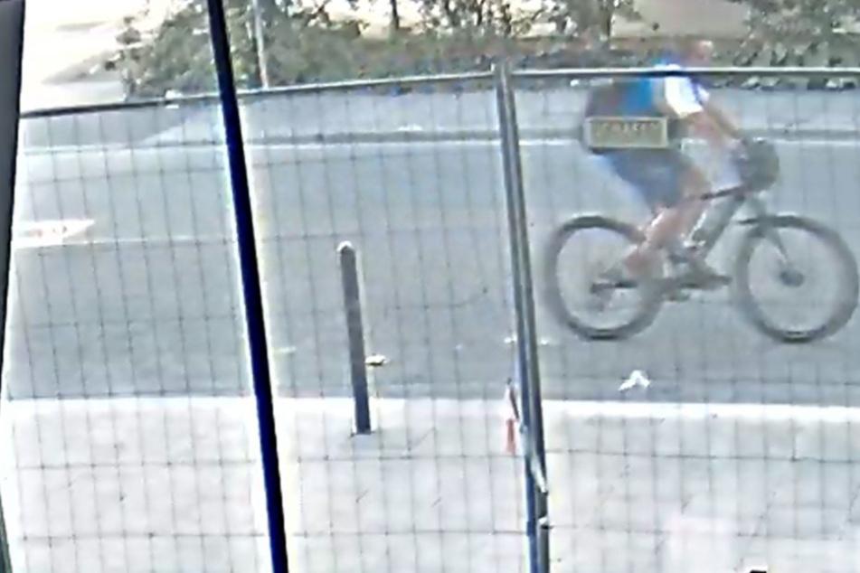 Neue Fotos des flüchtigen Fahrrad-Rambos aufgetaucht: Belohnung für Hinweise