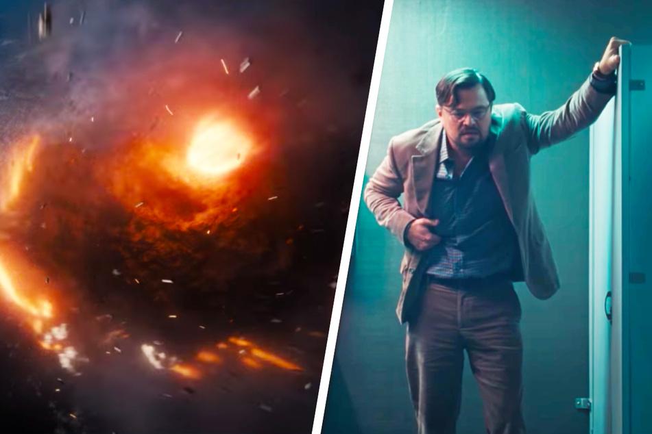 Dr. Randall Mindy (Leonardo DiCaprio, 46) sorgt sich wegen einer drohenden Kometen-Katastrophe um die Zukunft der Erde.