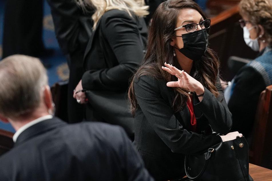 Colorado Congresswoman Lauren Boebert faces off with Capitol Police
