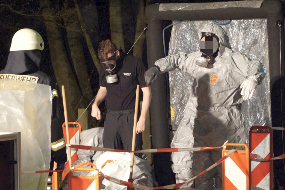Chemikalien ausgelaufen! Feuerwehr evakuiert Klinik