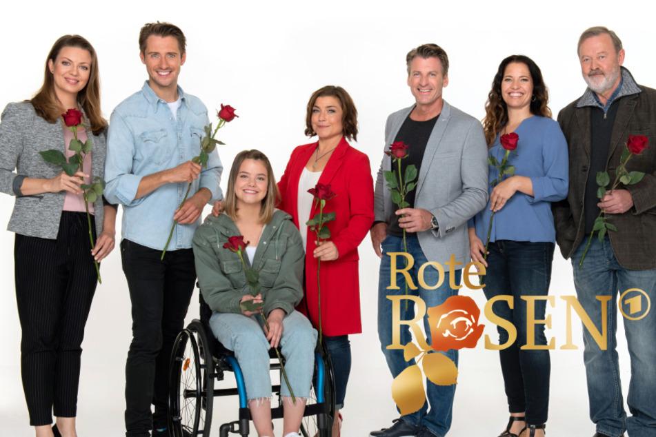 Die Rote Rosen-Darsteller sind auch hinter der Kamera ein tolles Team.