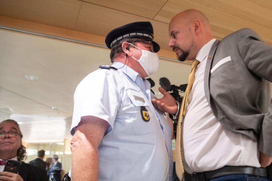 AfD-Fraktion wirft Abgeordneten Räpple nach Gewalt-Aufruf raus