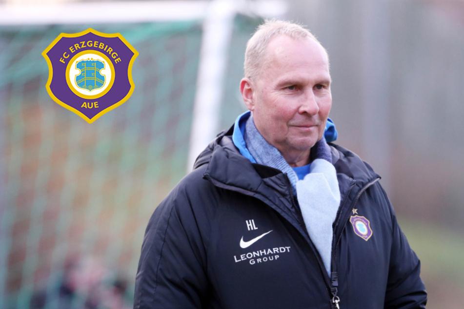 Aue-Boss Leonhardt begrüßt Saison-Fortsetzung, obwohl Team sich in Quarantäne befindet