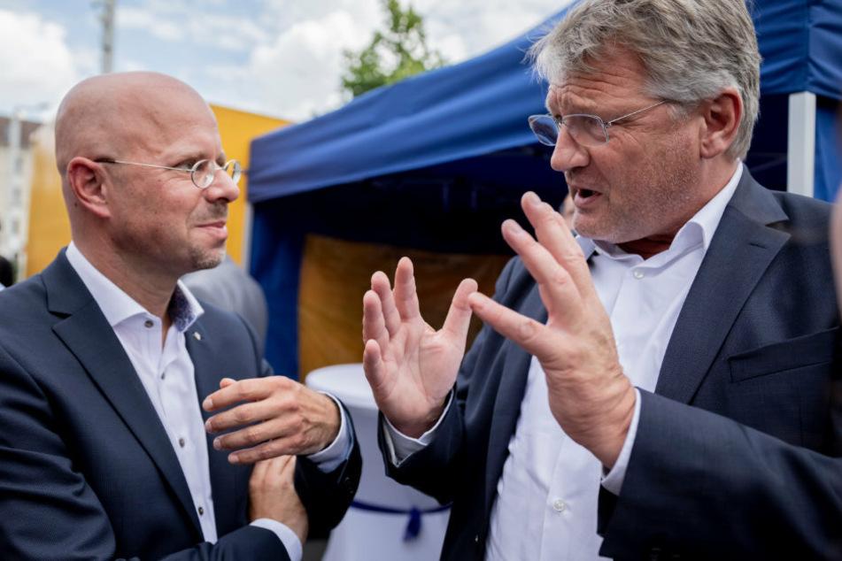 AfD-Chef Meuthen brachte Spaltung der Partei ins Spiel: Jetzt spricht Kalbitz!