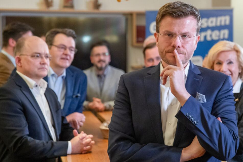 Marcus König, CSU-Spitzenkandidat für das Oberbürgermeisteramt in Nürnberg.