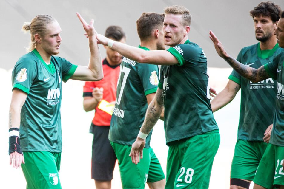 Die Vorbereitung und das Pokalspiel des FCA sind positiv zu bewerten.