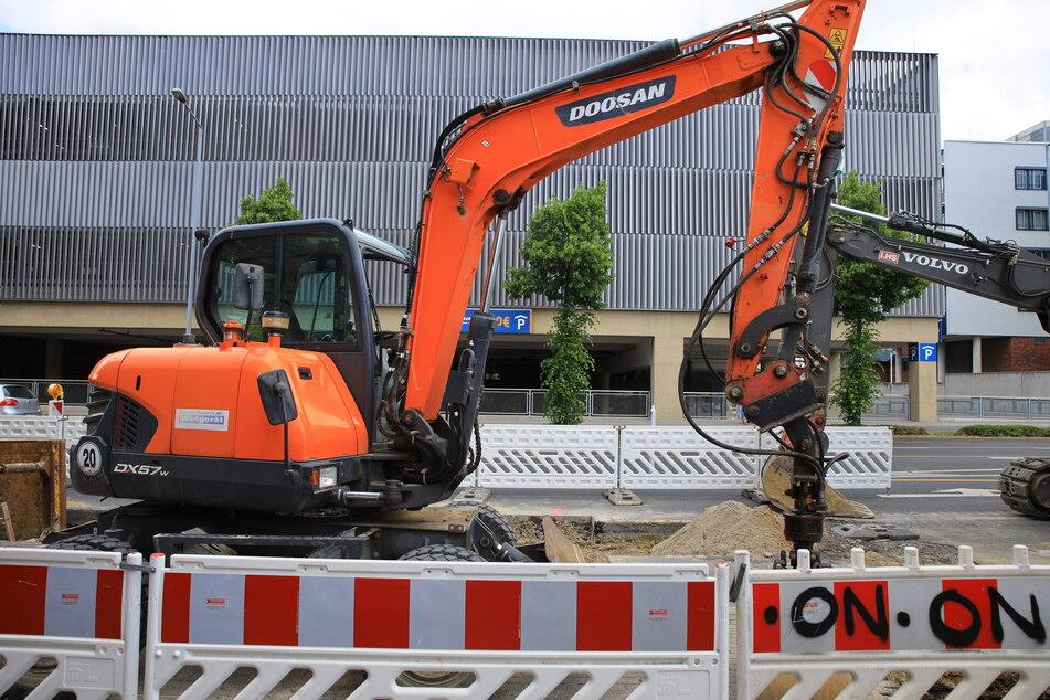 Auf einer Baustelle nahe dem Hauptbahnhof wurden die Metallteile entdeckt.