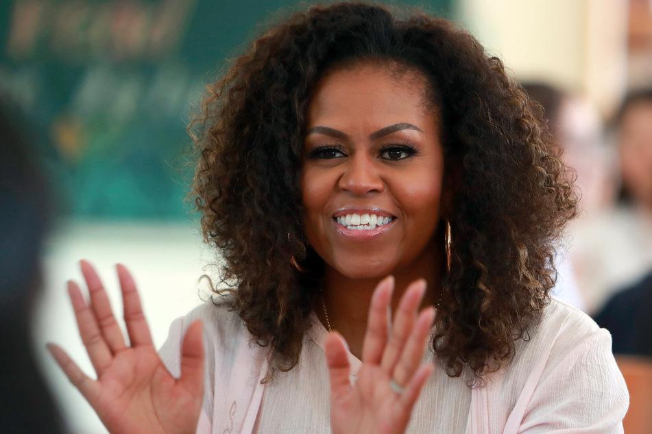 Michelle Obama war die erste schwarze First Lady in den USA. (Foto: Hau Dinh/AP/dpa)