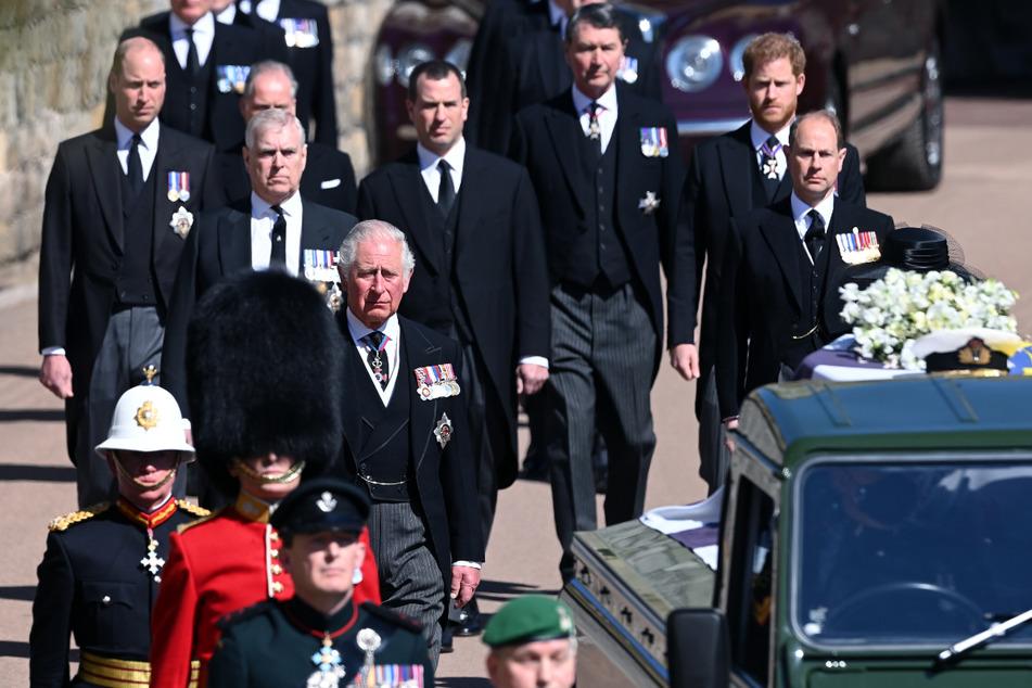 Trauerfeier auf Schloss Windsor: Royals nehmen Abschied von Prinz Philip