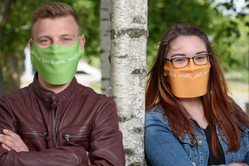 Fallen auf: Die Masken des DDV-Onlineshops sind in vielen Farben verfügbar.