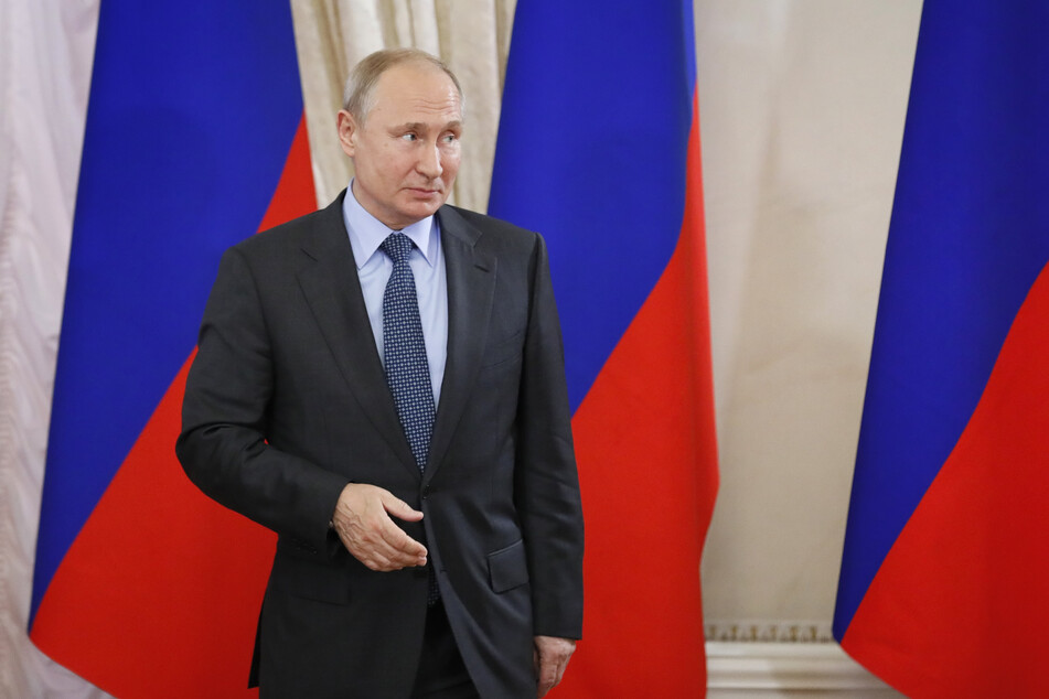 Wladimir Putin, Präsident von Russland.