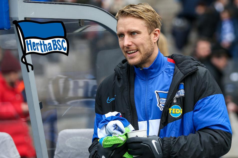 Zittern um Skjelbred: Verpasst er seinen Hertha-Abschied?