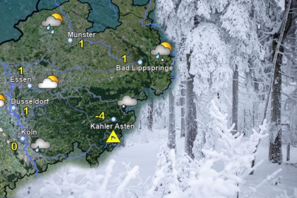 Es wird kalt in NRW, aber bleibt auch Schnee liegen?