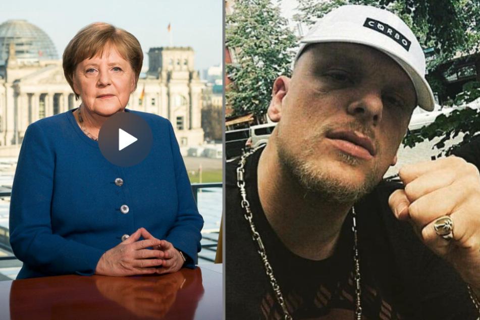 187 Strassenbande: Das sagt Bonez MC zur Rede der Bundeskanzlerin