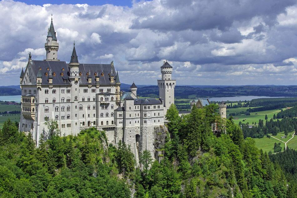 Das Schloss Neuschwanstein bei Füssen ist eines der beliebtesten deutschen Fotomotive auf Instagram.