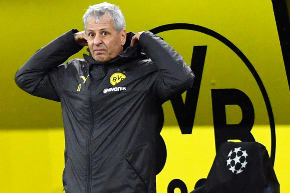 """BVB-Coach Lucien Favre (62) hält Arminia Bielefeld für ein Team, dass """"sehr, sehr schwer zu bespielen"""" sei."""