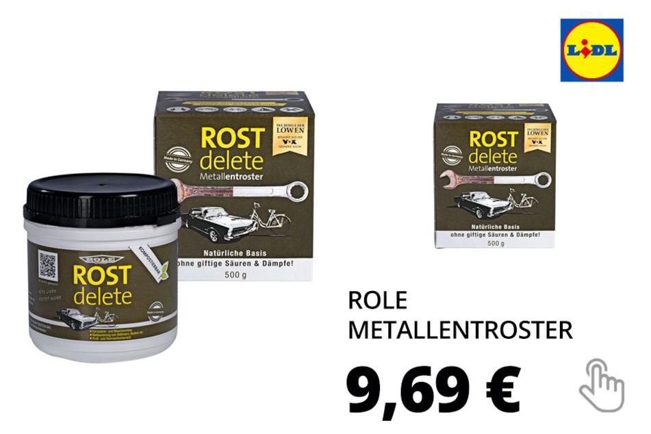 ROLE Metallentroster