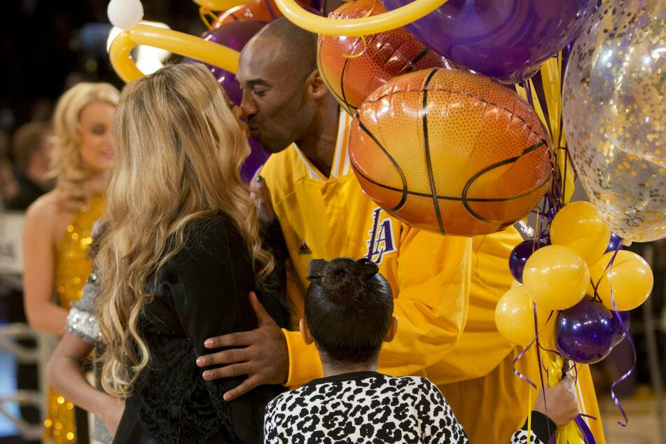 Vanessa Bryant honored her late husband Kobe Bryant's NBA career and life outside of the NBA, during his Hall of Fame induction on Saturday