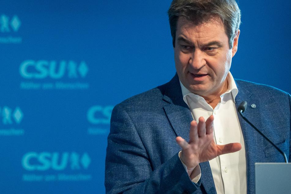 Markus Söder (54), CSU-Parteichef und Ministerpräsident von Bayern, kritisierte seine Kollegen.