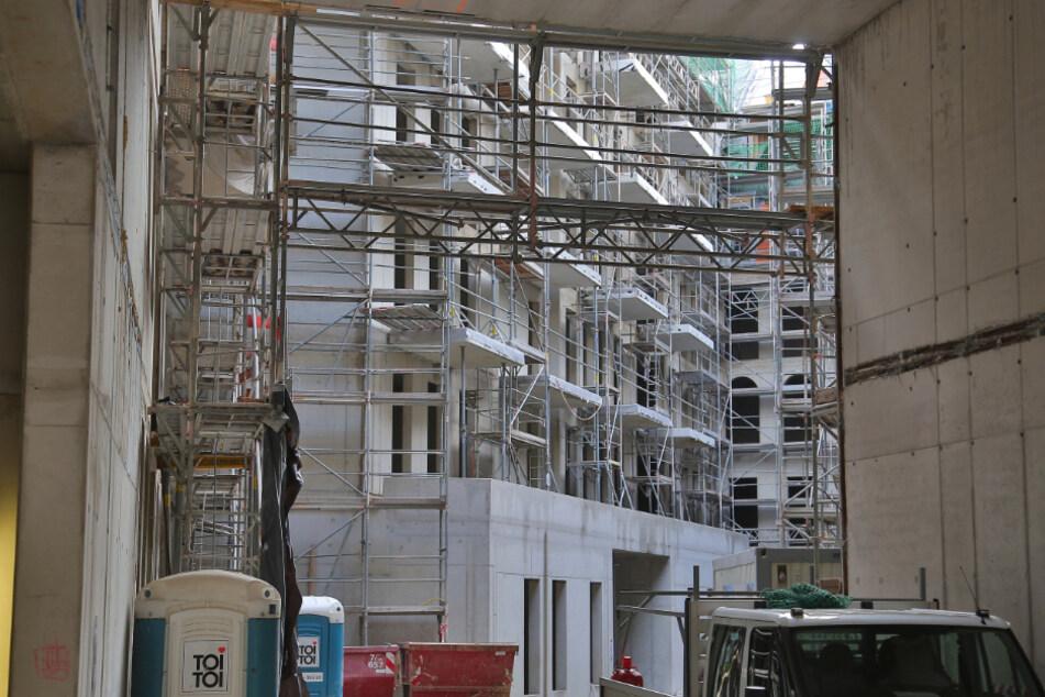 """Laut Stadt wurde """"die Baustelle offensichtlich eingestellt""""."""