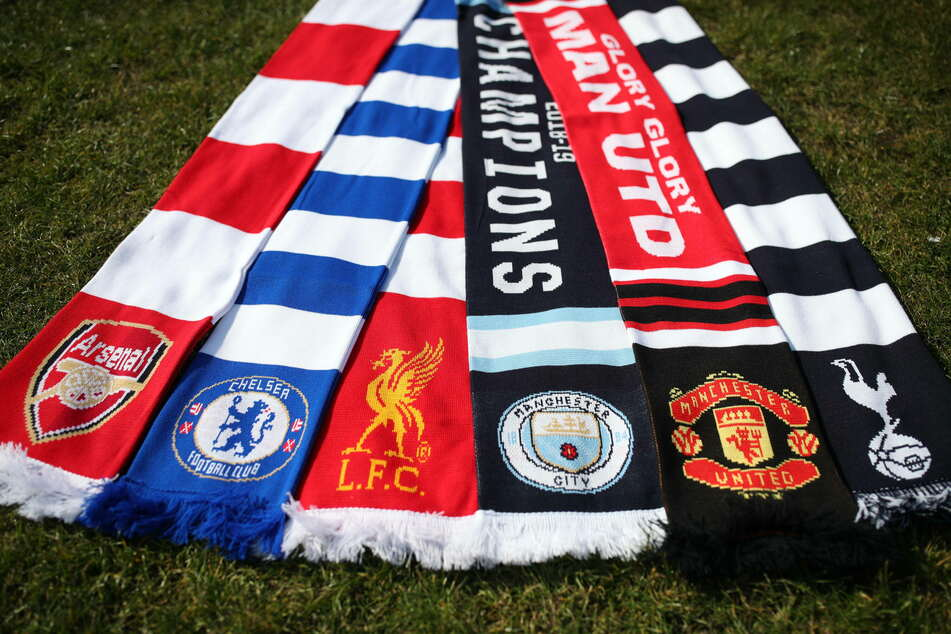 Arsenal, Chelsea, Liverpool, Manchester City, Manchester United, and Tottenham Hotspur, are among the 12 clubs behind the Super League.