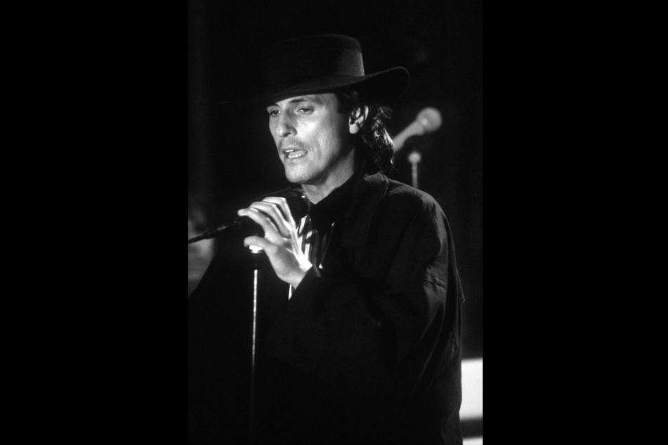 Peter Schilling bei einem Auftritt im ARD-Wunschkonzert am 12.05.1988.