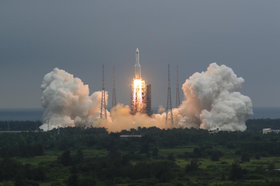 Mit dem Bau einer eigenen Raumstation begann China das bisher größte Vorhaben seines ehrgeizigen Weltraumprogramms.