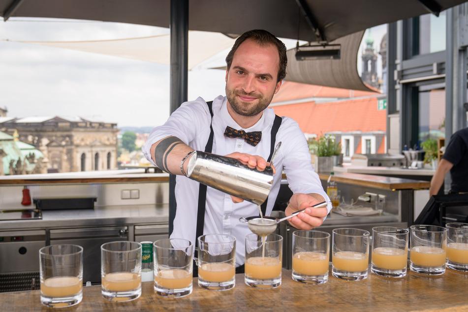 Dresden: Lecker! Wird dieser Cocktail der neue Hit in Dresden?