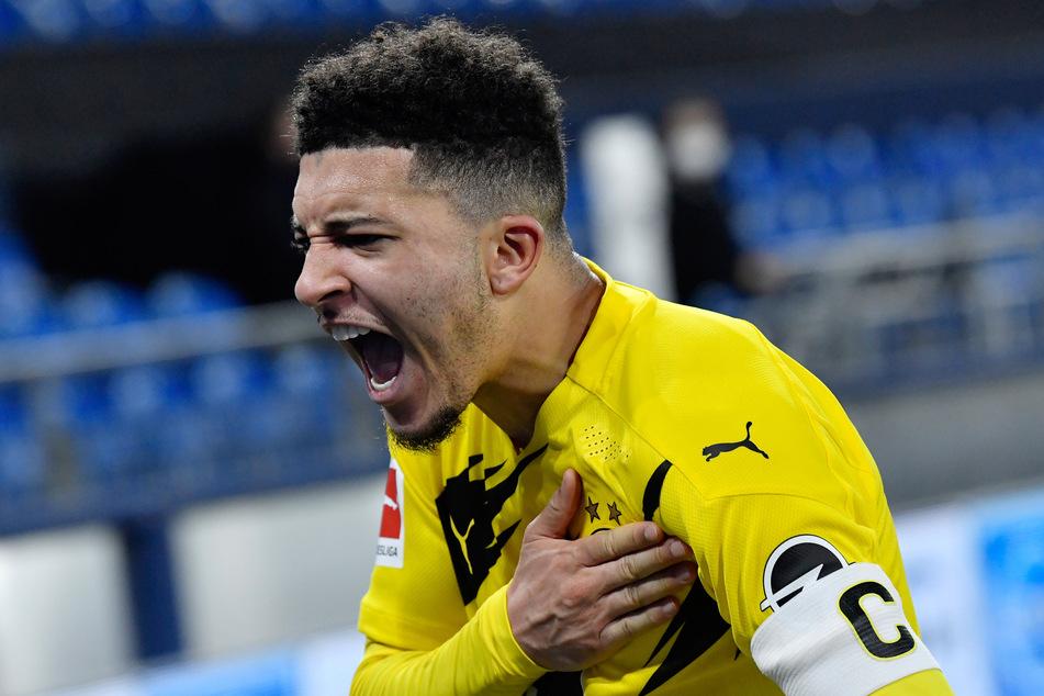 Jadon Sancho (21) wechselte 2017 aus der City-Jugend zum BVB.