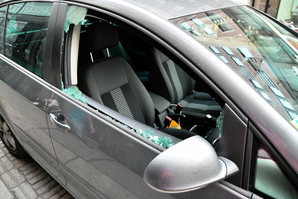 In Chemnitz kam es zu mehreren Einbrüchen in Autos (Symbolbild).
