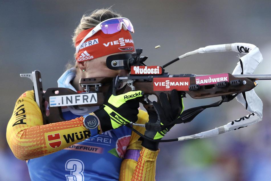 Beim Weltcup Anfang März in Nove Mesto feierte Denise Herrmann ihren sechsten Weltcupsieg.