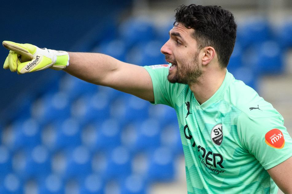 Werder-Leihgabe Stefanos Kapino (27) überzeugte zuletzt beim SV Sandhausen.