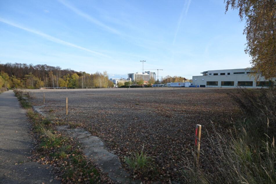 Auf 3,5 Hektar zwischen Flemmingstraße und Crimmitschauer Wald will das Klinikum Psychatrie und Campus-Klinik bauen.
