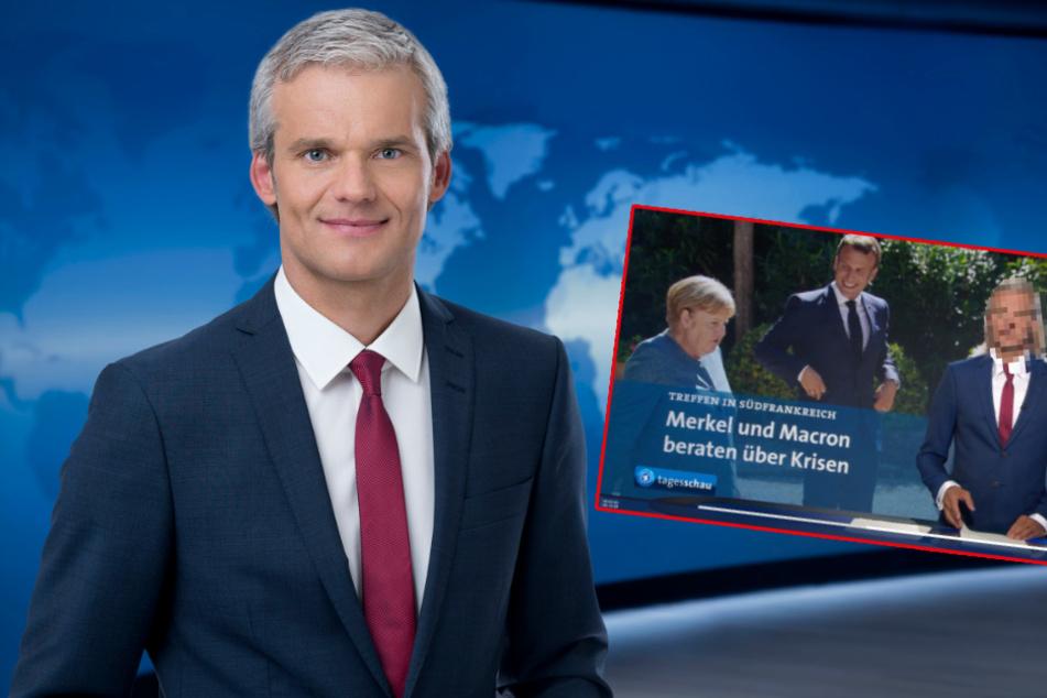 Tagesschau-Panne: Sprecher Thorsten Schröder mit absurder Frisur
