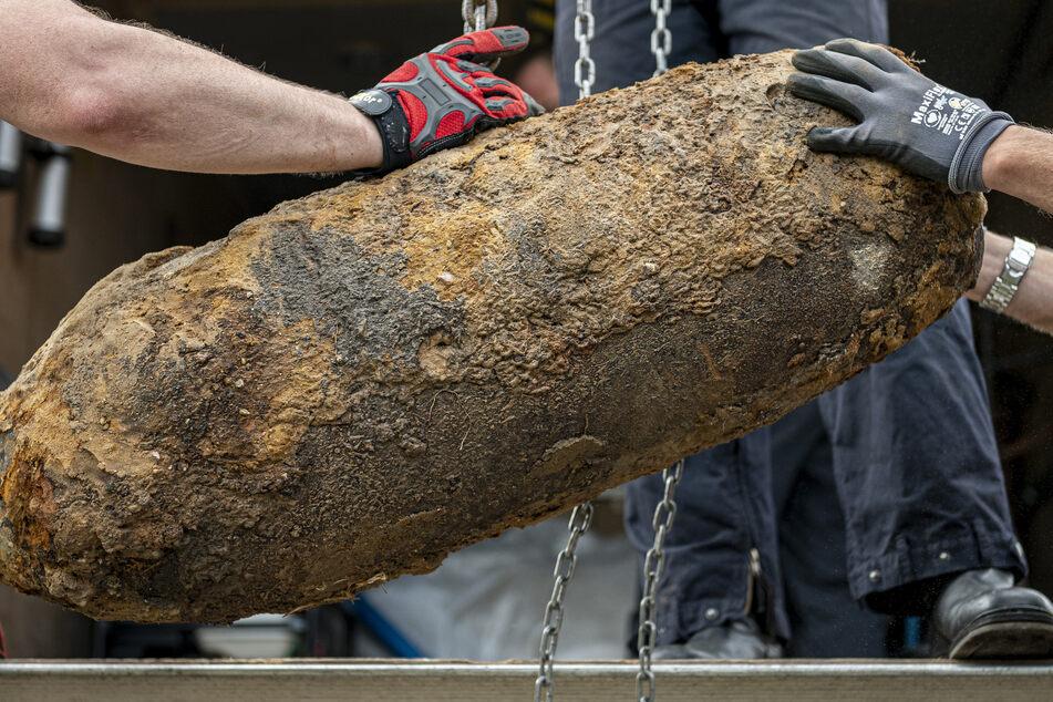 Schon wieder: Erneuter Fund einer Weltkriegsbombe auf Hanauer Kasernen-Gelände