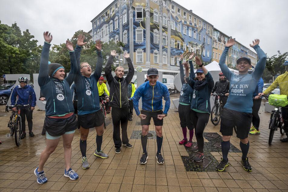 Geschafft und glücklich! Lauf-KulTour ist zurück in Chemnitz